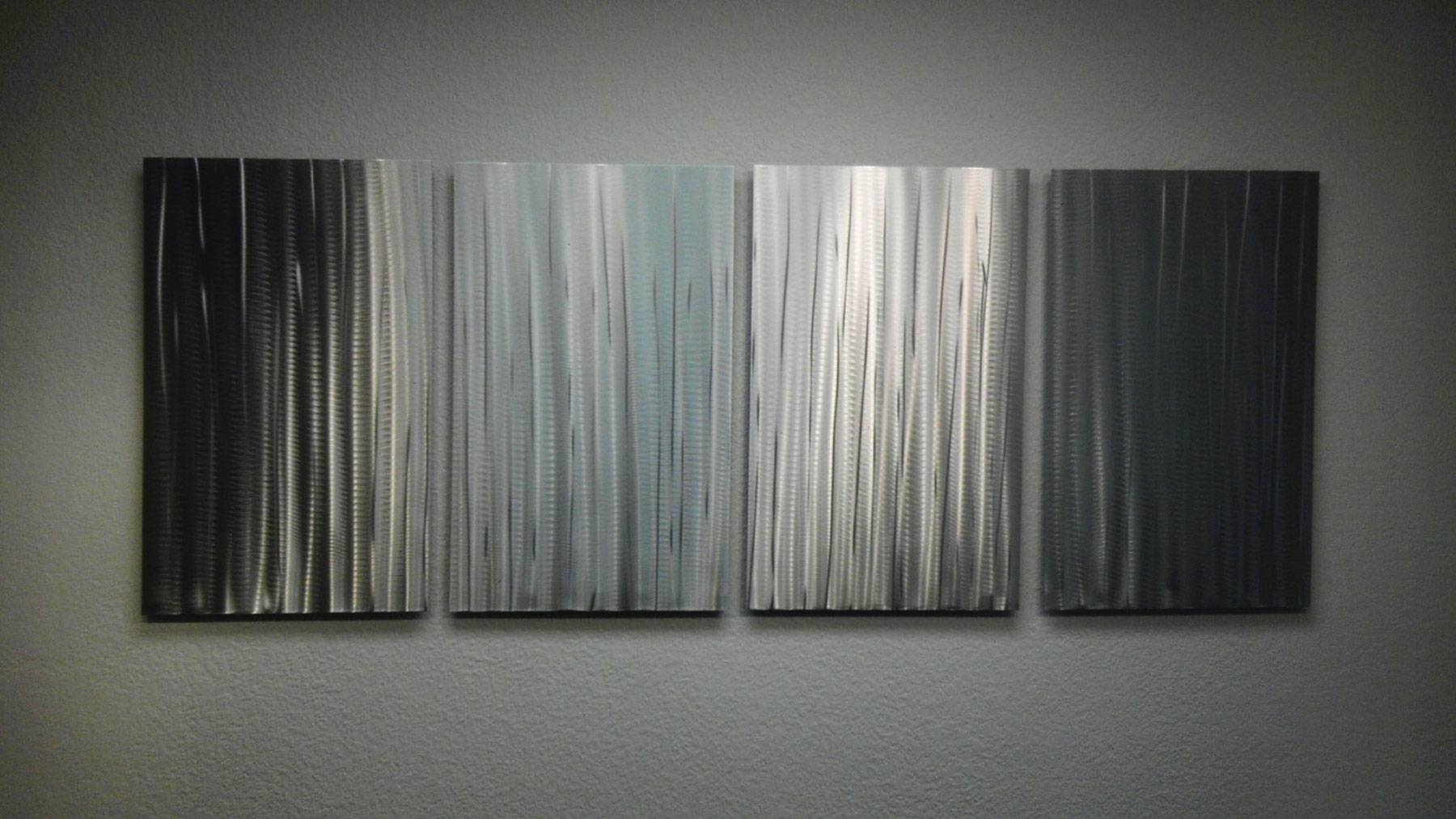 Bamboo Forest – Abstract Metal Wall Art Contemporary Modern Decor With Regard To Newest Bamboo Metal Wall Art (View 10 of 25)