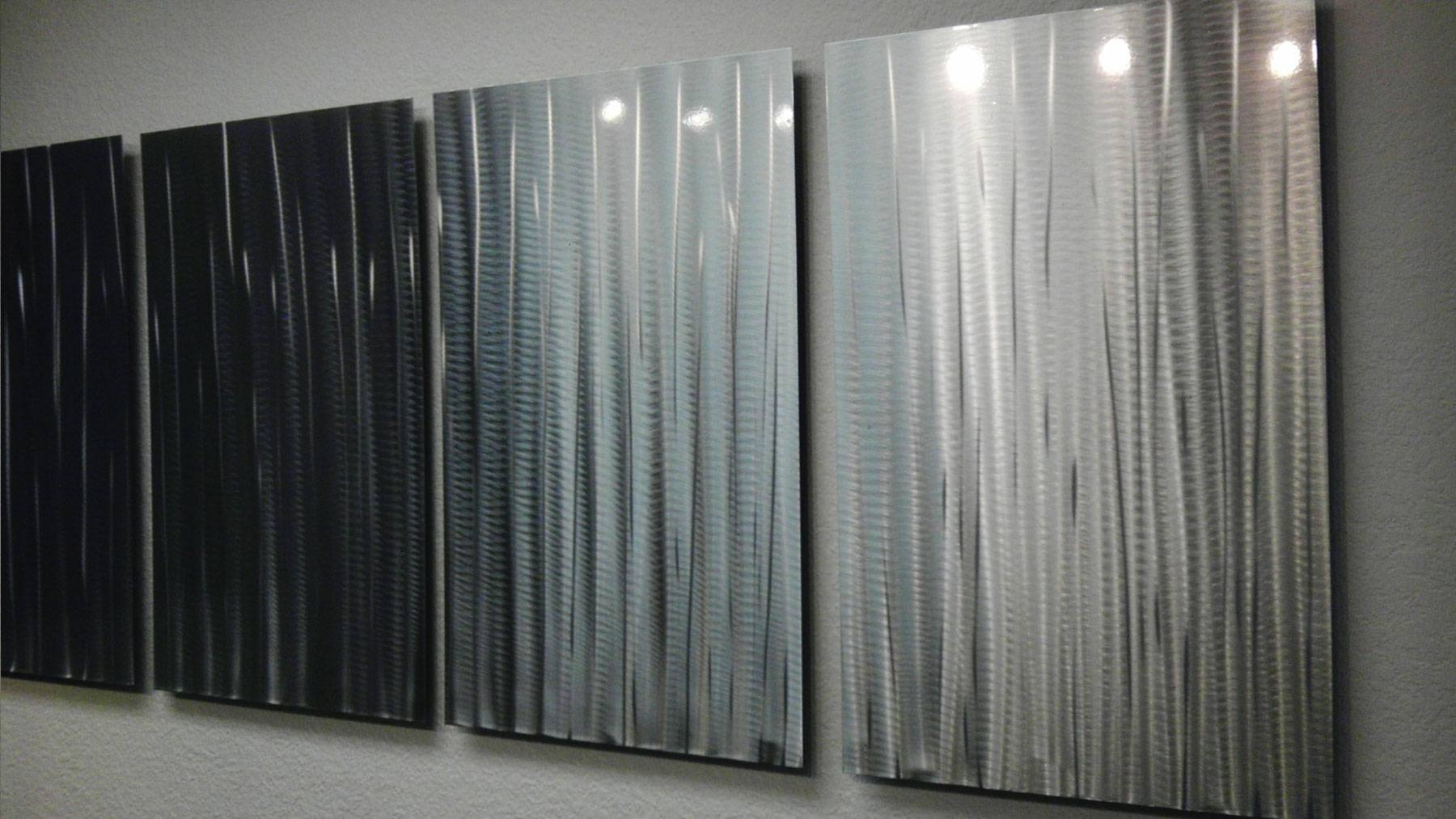 Bamboo Forest – Abstract Metal Wall Art Contemporary Modern Decor Within Most Recent Bamboo Metal Wall Art (View 4 of 25)
