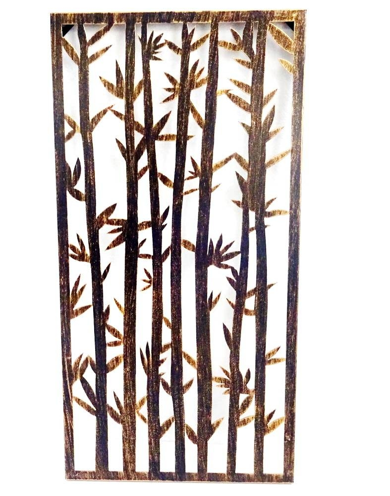 Bamboo Metal Wall Art, Bamboo Metal Wall Art Suppliers And Pertaining To Newest Bamboo Metal Wall Art (View 8 of 25)