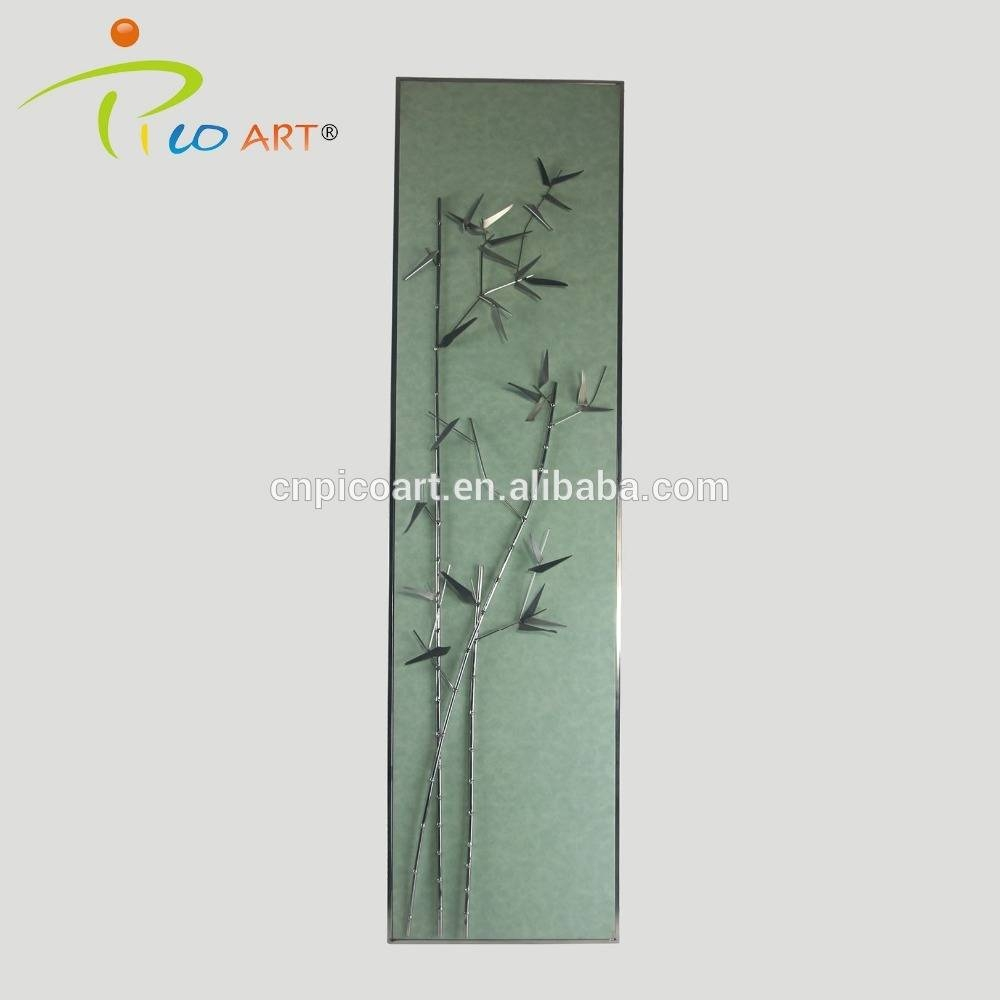 Bamboo Metal Wall Art Decor, Bamboo Metal Wall Art Decor Suppliers Inside 2018 Bamboo Metal Wall Art (View 12 of 25)