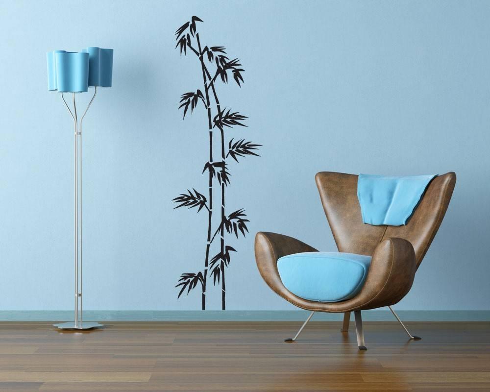 Bamboo Tree Vinyl Wall Art Graphic Design In Most Recent Graphic Design Wall Art (View 1 of 20)