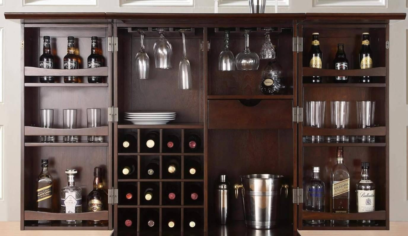 Bar : Wonderful Home Bar Area Furniture Glamorous Wood Bar Table With Newest Wall Art For Bar Area (View 6 of 20)