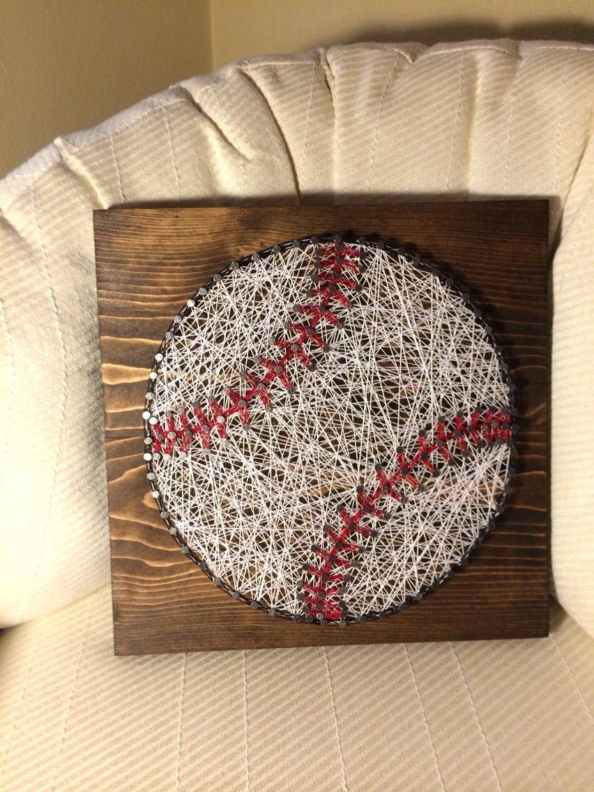 Baseball Wall Decals For Kids Wall Ideas Baseball Wall Art In Recent Vintage Baseball Wall Art (View 7 of 30)