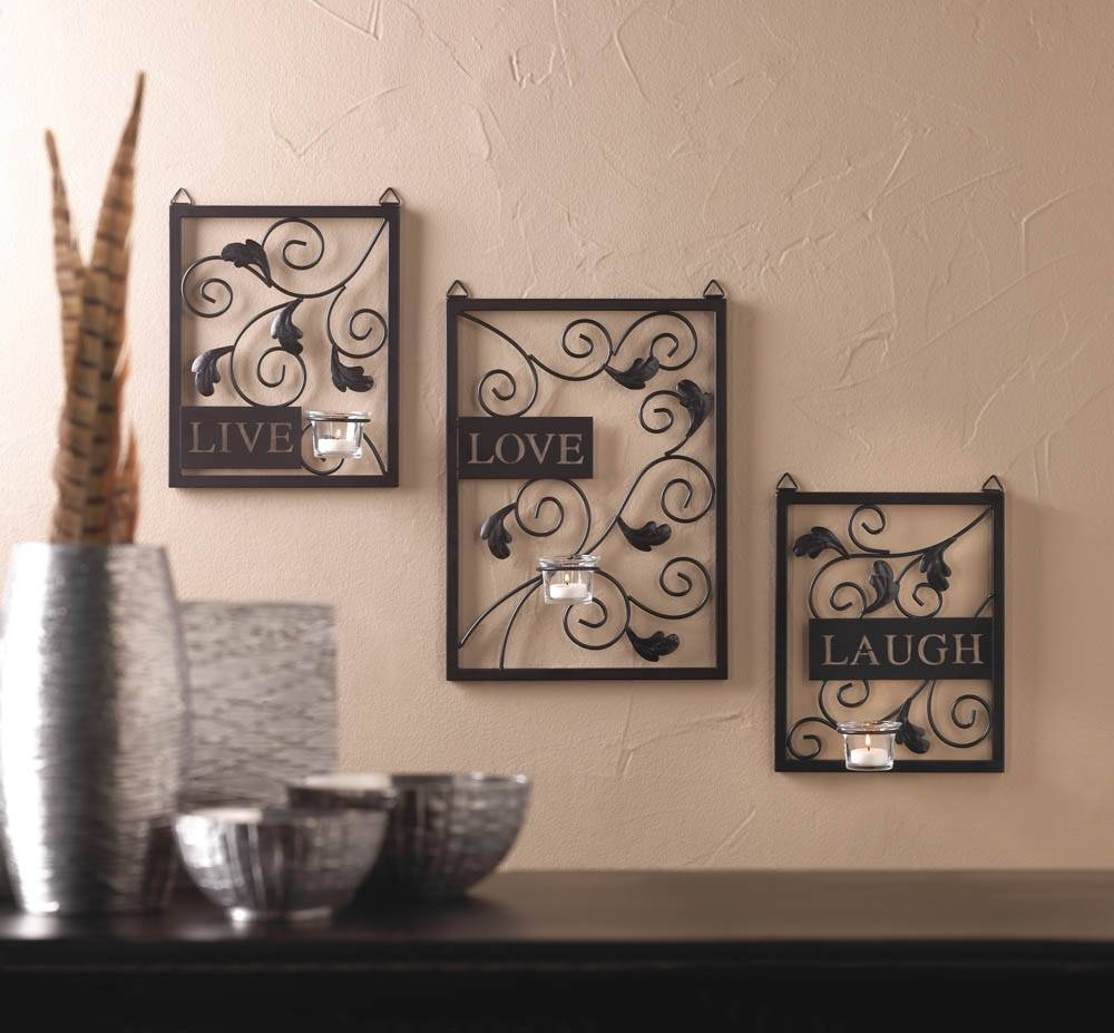 Bathroom : Attractive Awesome Live Love Laugh Wall Decor Appealing With Regard To Most Current Live Love Laugh Metal Wall Decor (View 1 of 25)