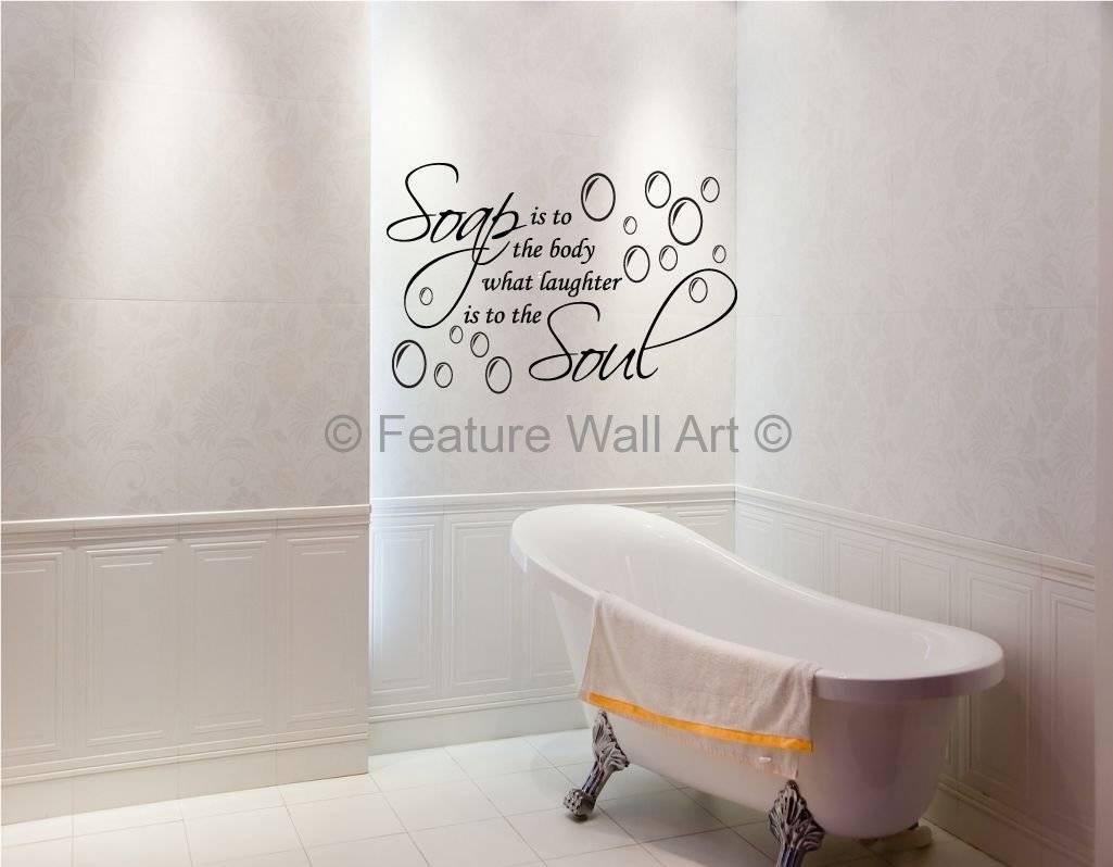 Bathroom Design : Awesome Diy Bathroom Art 2017 Bathroom Wall Art Pertaining To Most Popular Shower Room Wall Art (View 9 of 15)