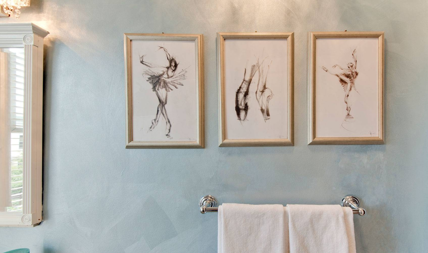 Bathroom : Incredible Bathroom Wall Art With Wooden Framed Hanging For 2017 Glamorous Wall Art (View 2 of 30)