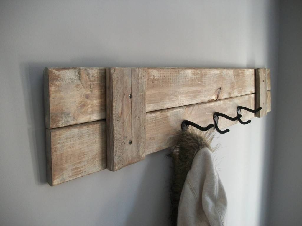 Bathroom : Modern Wall Mounted Coat Rack Ideas To Impress You Intended For Most Popular Wall Art Coat Hooks (View 4 of 20)