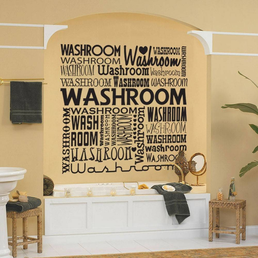 Bathroom Rules Wall Art Book Turquoise Ikea Lavender Homemade Nz In Most Popular Shower Room Wall Art (View 13 of 15)