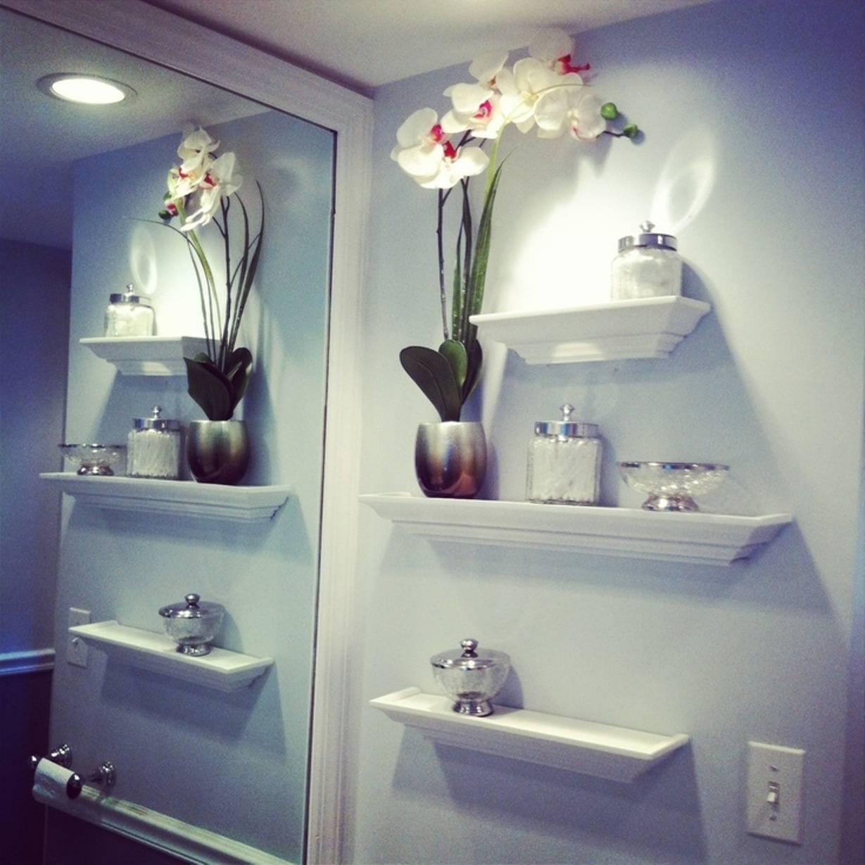 Bathroom : Splendid Cool Extraordinary Diy Bathroom Wall Decor With Regard To Most Up To Date Contemporary Bathroom Wall Art (View 17 of 20)