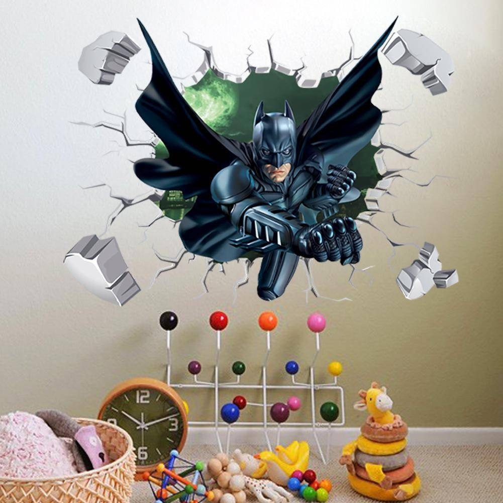 20 Collection of Batman 3D Wall Art for 3d Wall Graphic Design  18lpqdu