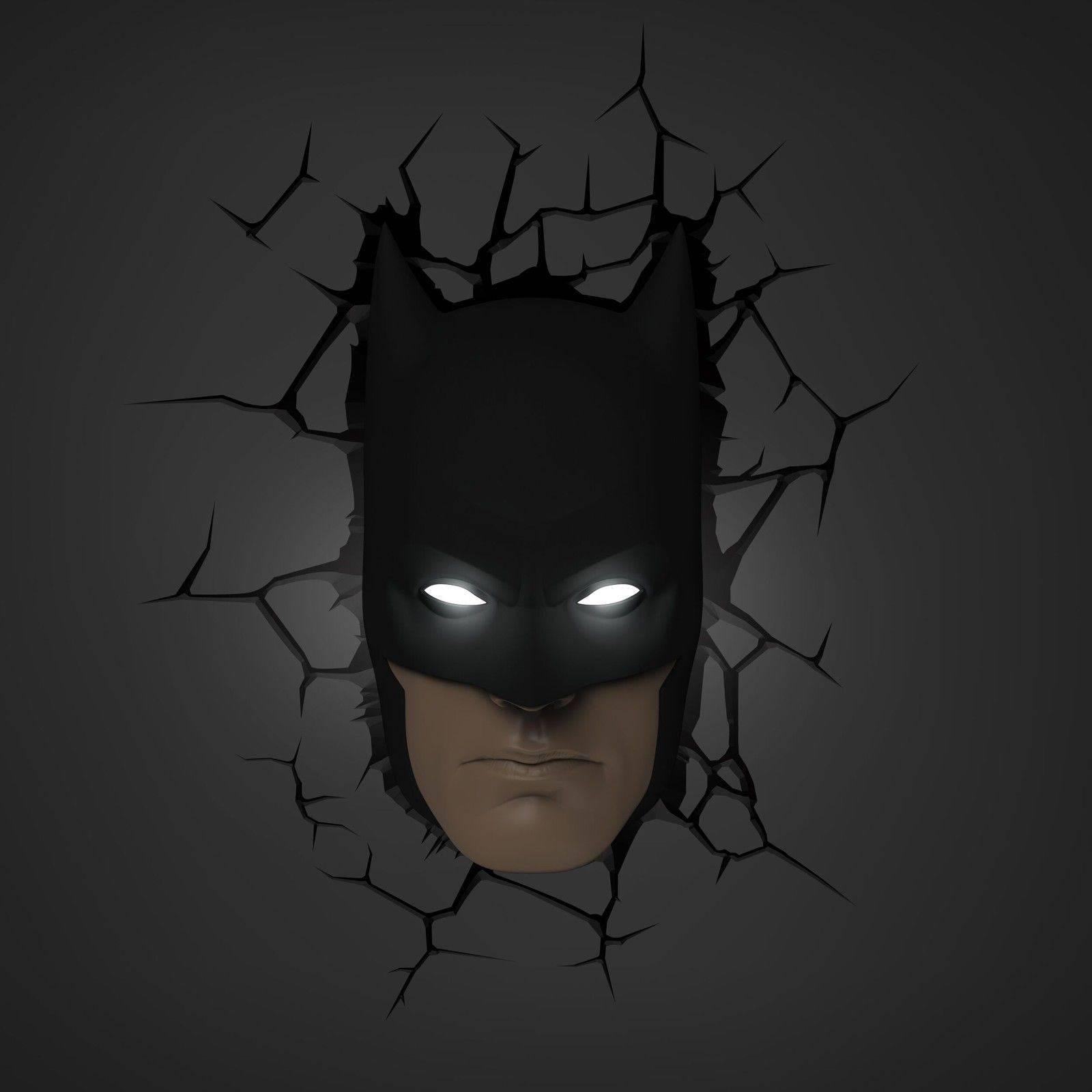 Batman Wall Art Light | Home Design Ideas With 2018 3D Wall Art With Lights (View 8 of 20)