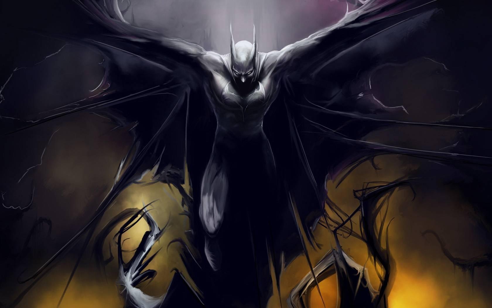 Batman Wallpaper With Regard To Newest Batman 3d Wall Art (View 7 of 20)