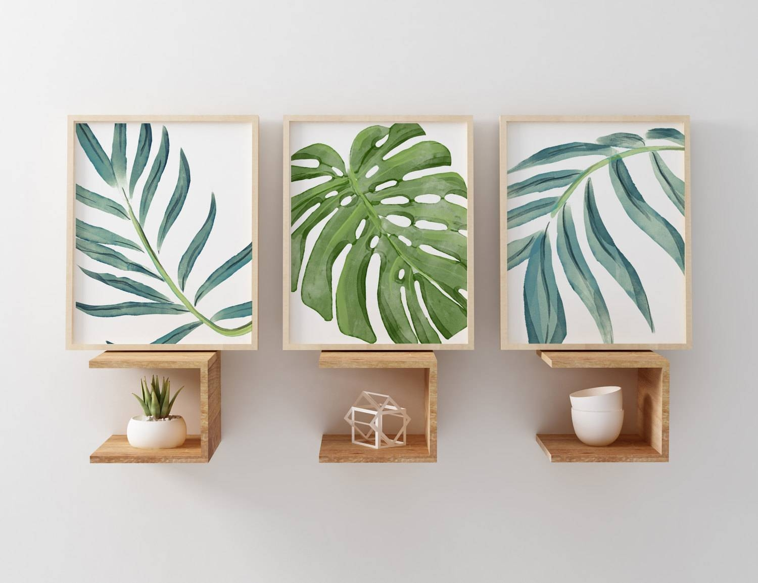 Featured Photo of Palm Leaf Wall Decor