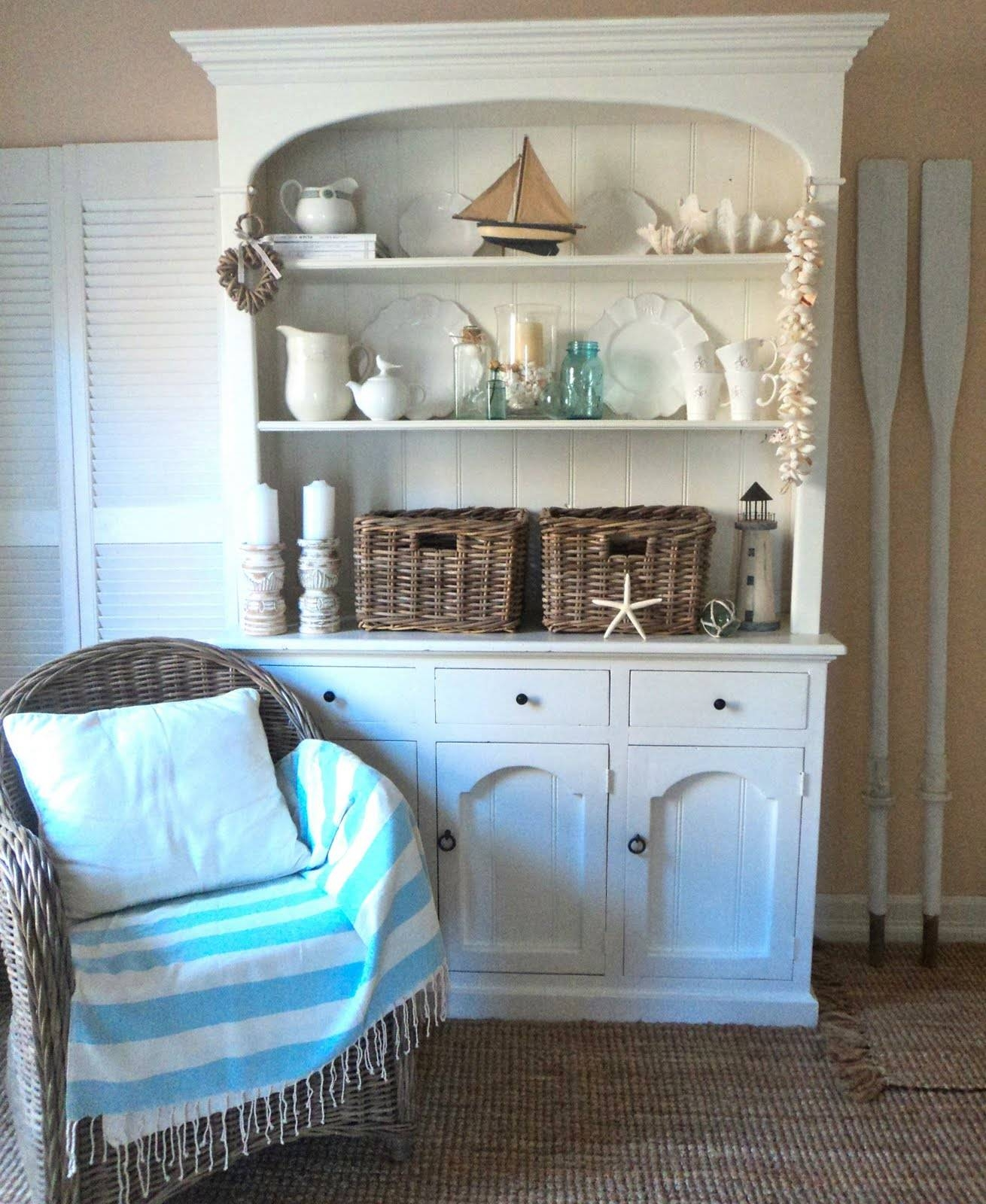 Beach Cottage Wall Decor The Home Design : White For Easy Yet Within Recent Beach Cottage Wall Decors (View 9 of 25)