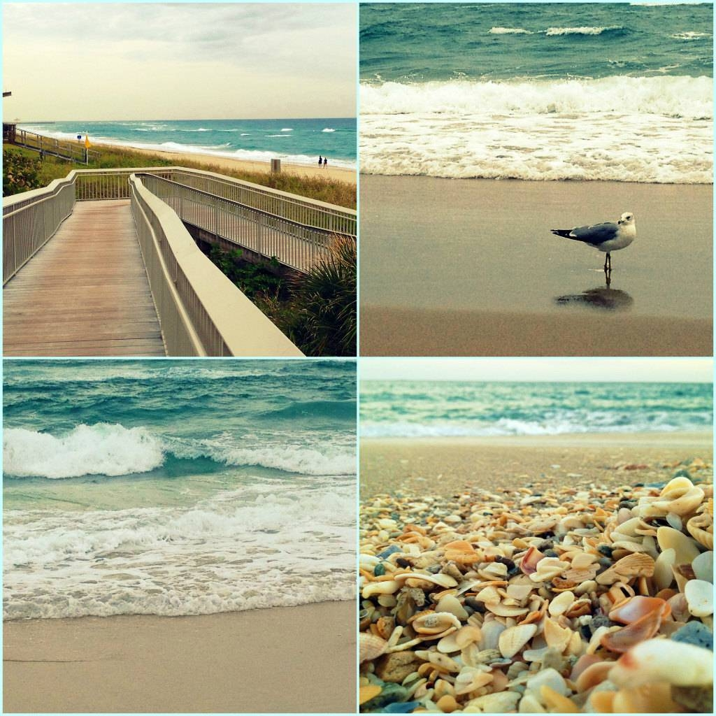 Beach Photography Set Of 4 Prints Turquoise Wall Art Prints Intended For Newest Beach Wall Art (View 9 of 15)