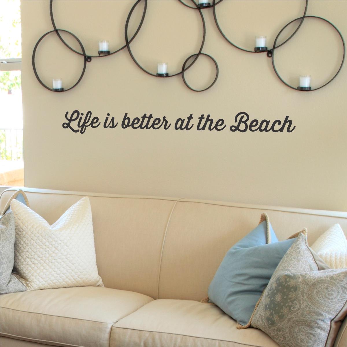 Beach Themed Wall Art Design Best House Design : Beach Themed Wall Pertaining To Newest Beach Theme Wall Art (View 3 of 20)