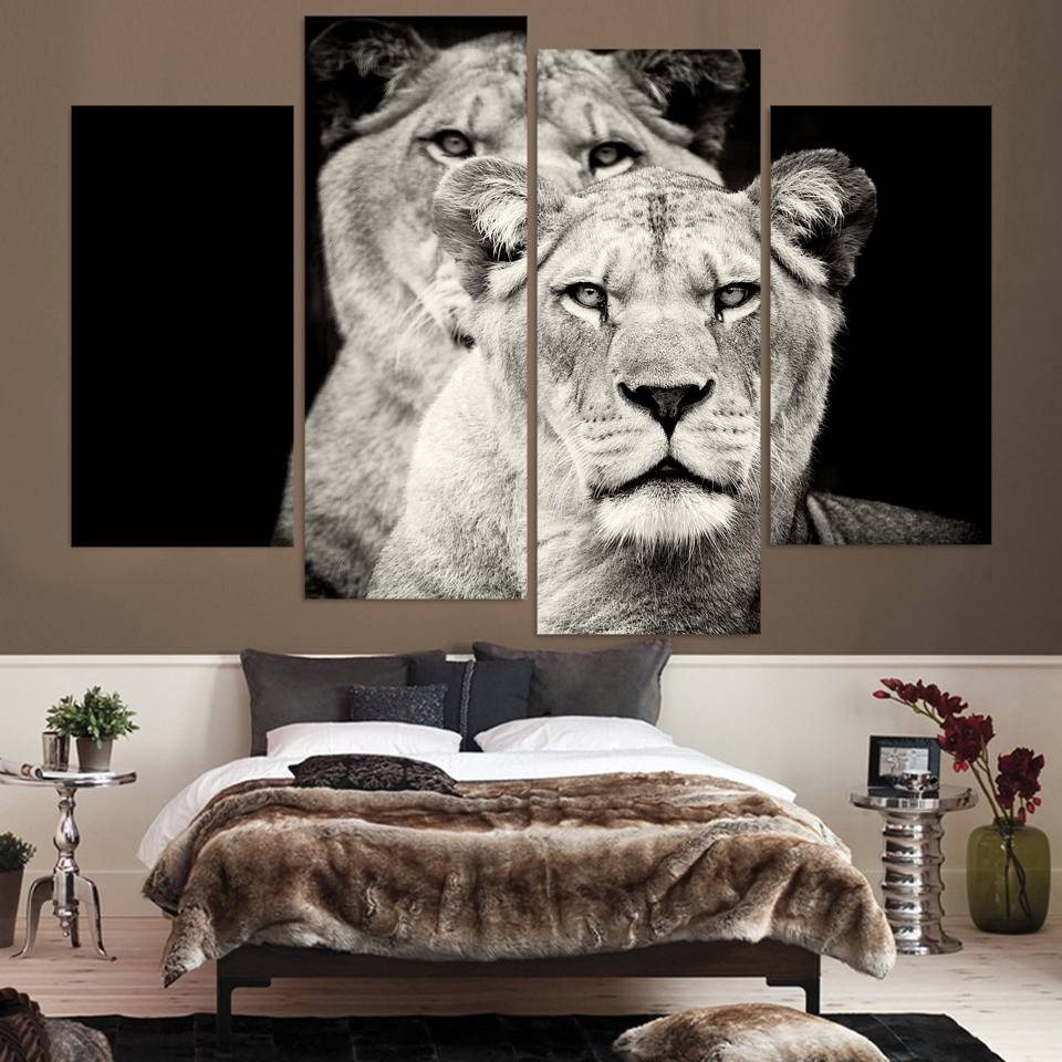 Beautiful Lion Head Wall Art Lion Nursery Art Print Lion King Wall With Regard To Most Recently Released Lion Wall Art (View 7 of 20)