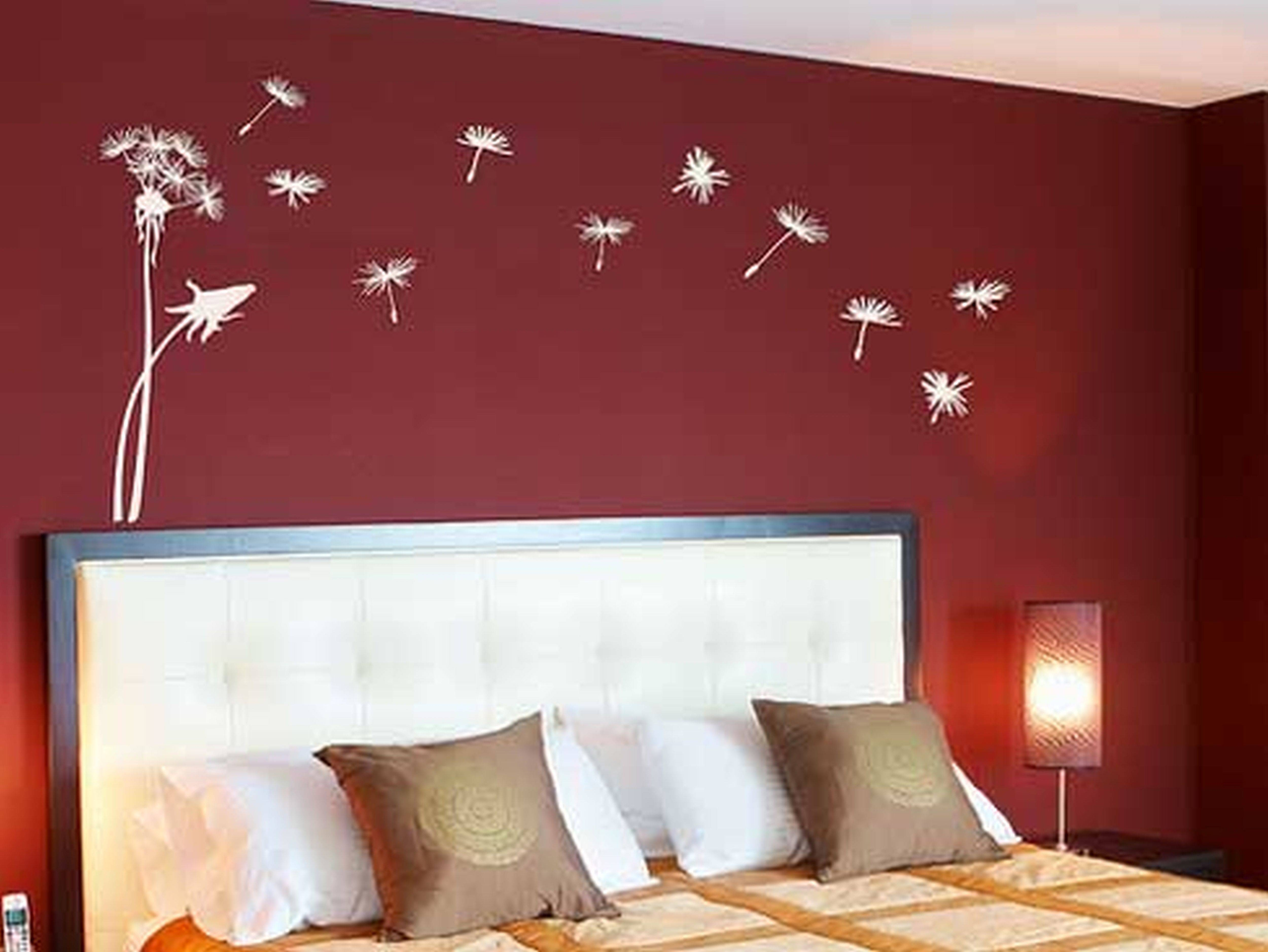 Bedroom : Abstract Painting Ideas Wall Paint Patterns 3D Wall With Latest Bedroom 3D Wall Art (View 8 of 20)