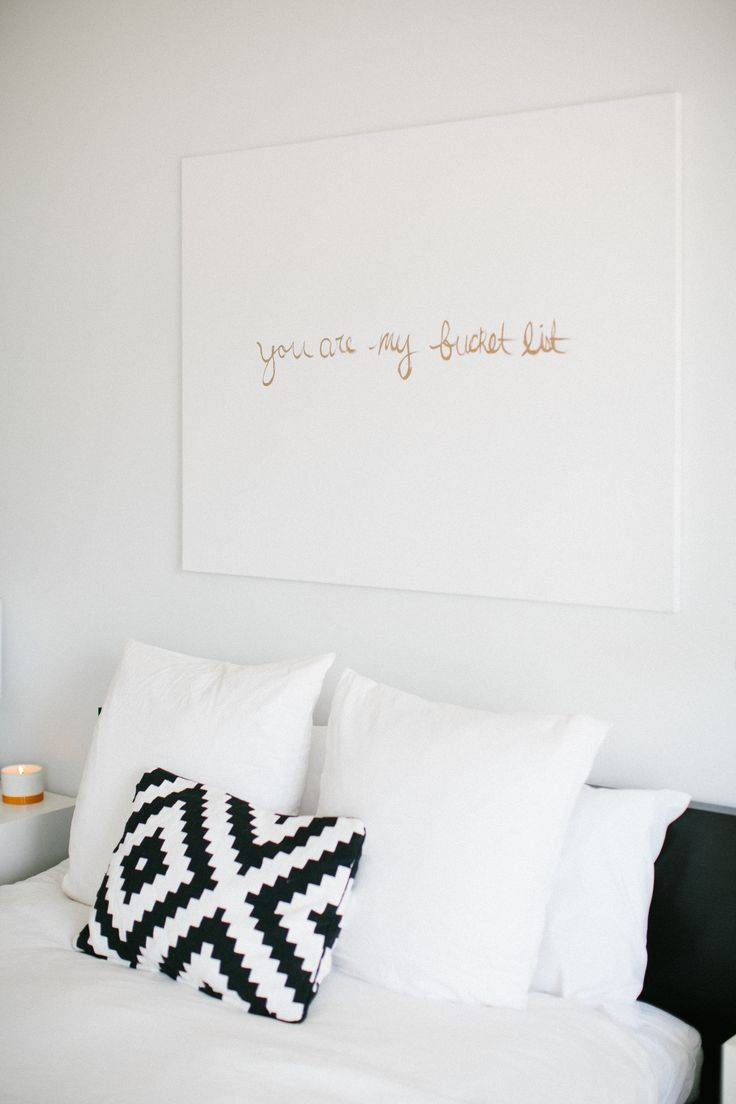 Bedroom Art Ideas Archives – Ilevel Within Most Recent Bed Wall Art (View 20 of 25)