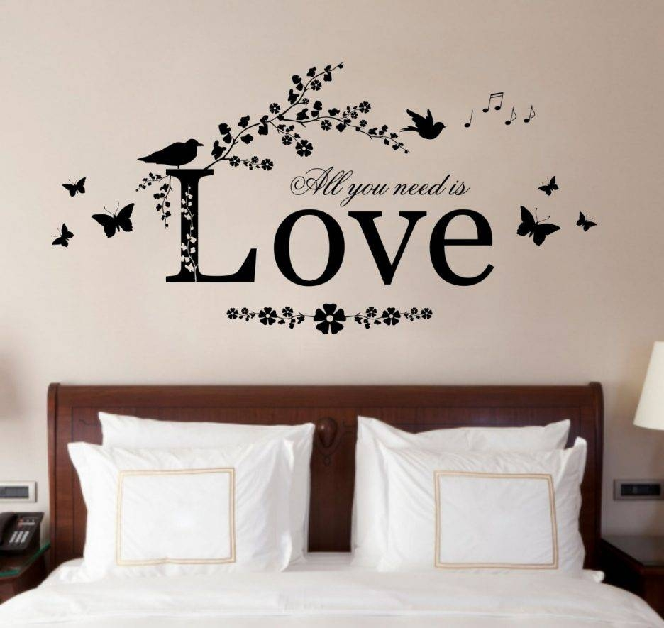 Bedroom : Attractive Creative Bedroom Wall Decor Ideas Perfect Pertaining To Newest Bedroom Wall Art (View 6 of 25)