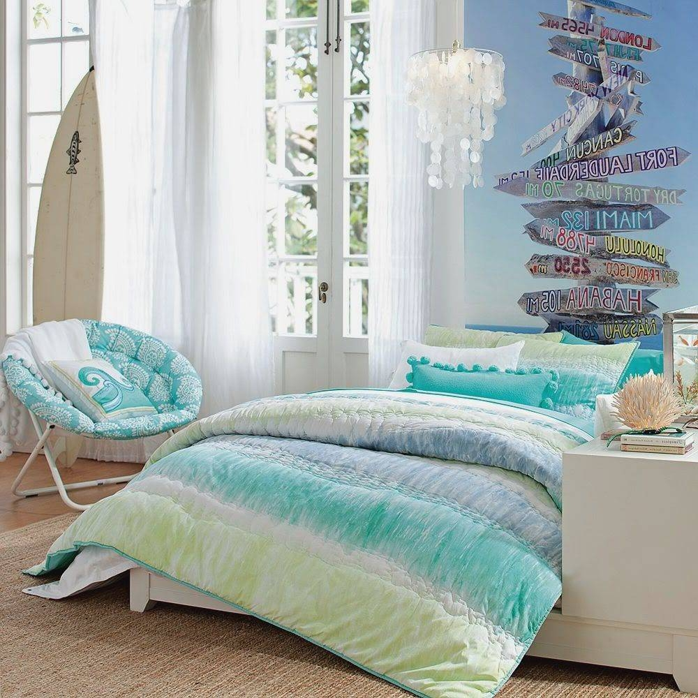 Bedroom : Beach Bedroom Ideas Colors Good Theme For Amazing Home In 2018 Beach Wall Art For Bedroom (View 7 of 20)