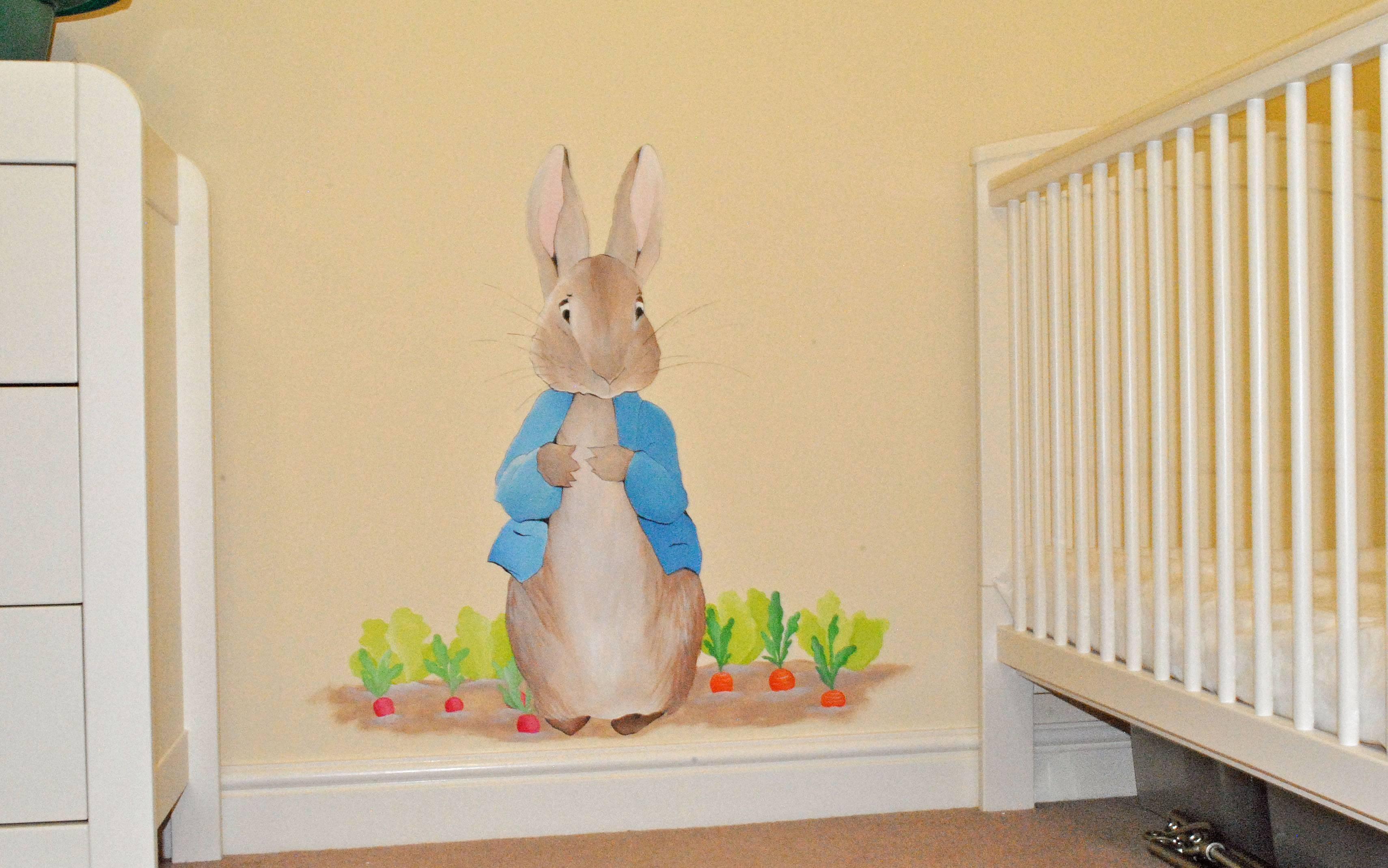 Bedroom: Chic Peter Rabbit Bedroom (View 5 of 15)