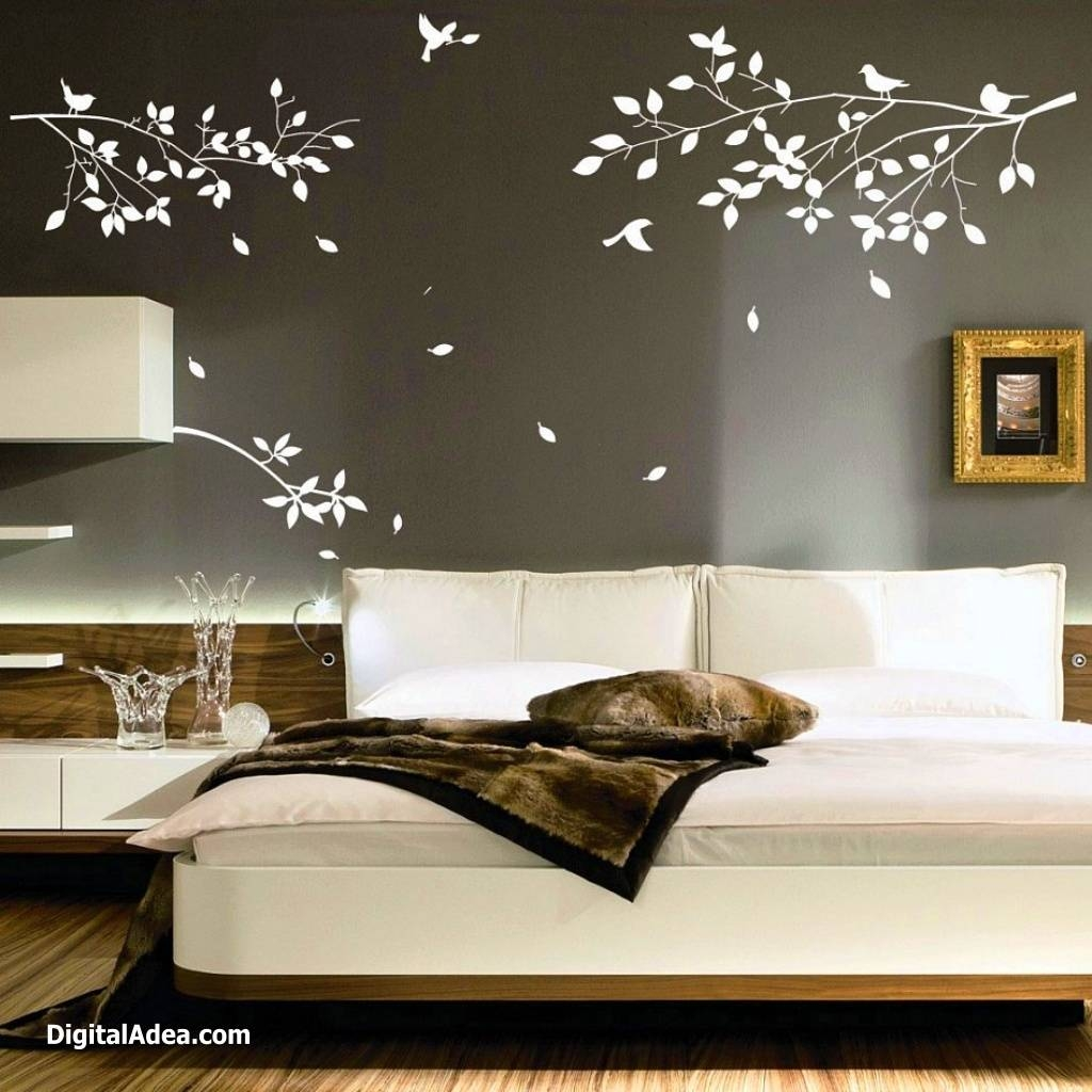 Bedroom Decorating Ideas On A Budget Ornamental Bedroom Wall Art With Most Recent 3D Wall Art For Bedrooms (View 12 of 20)