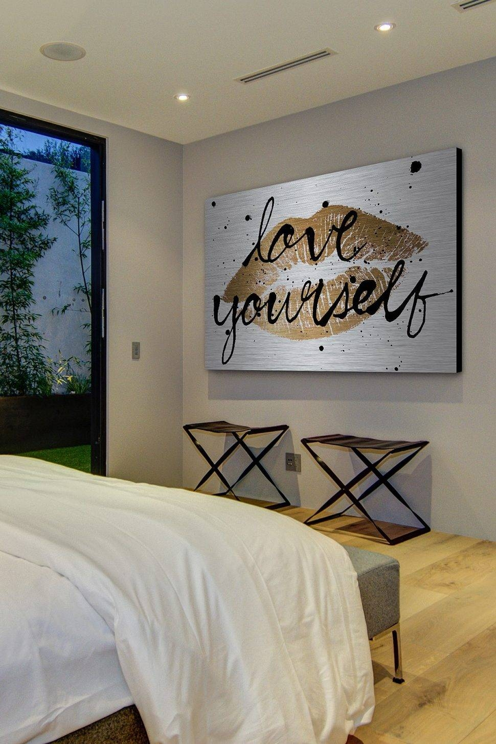 Bedroom Design : Magnificent Wall Accessories Bedroom Wall Decor For 2018 Big Wall Art (View 7 of 20)