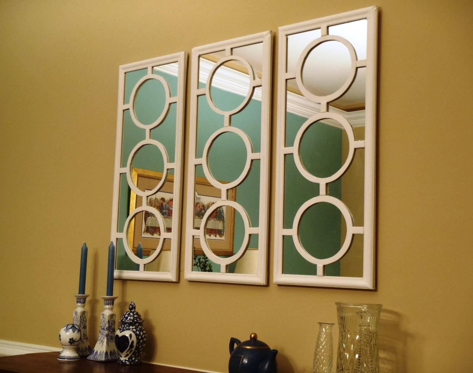 Bedroom : Extraordinary Wall Mirror Art Mirror Bathroom Mirror Within Most Recent Mirror Circles Wall Art (View 14 of 20)