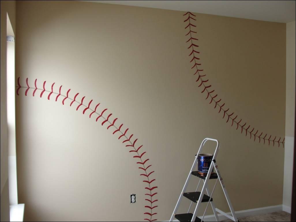 Bedroom : Fabulous Vintage Baseball Wall Art Baseball Wall Decals For Recent Vintage Baseball Wall Art (View 4 of 30)