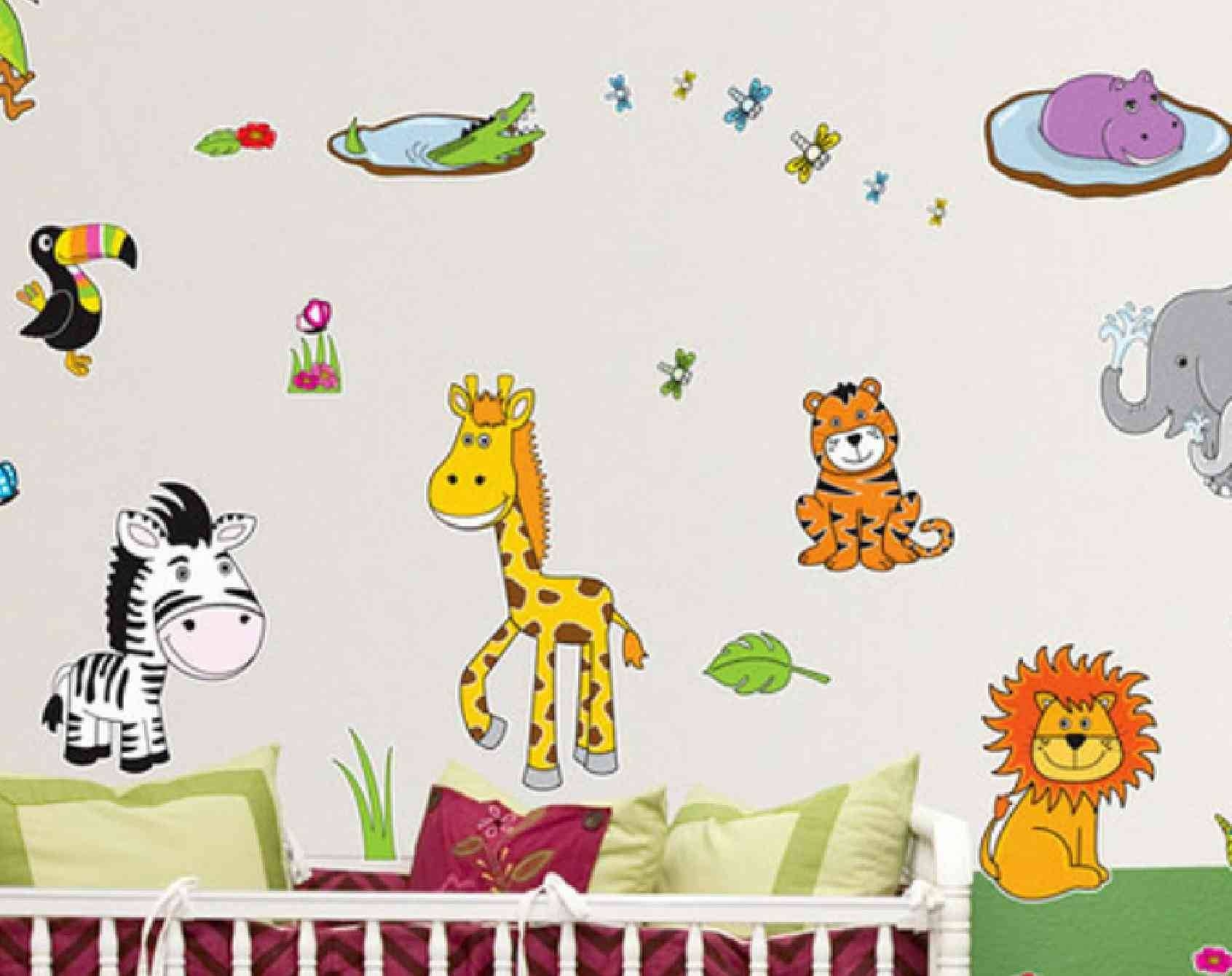 Bedroom Ideas : Awesome Kid Boys Wall Paints Designs Kids Room Within Latest Wall Art Stickers For Childrens Rooms (View 16 of 20)