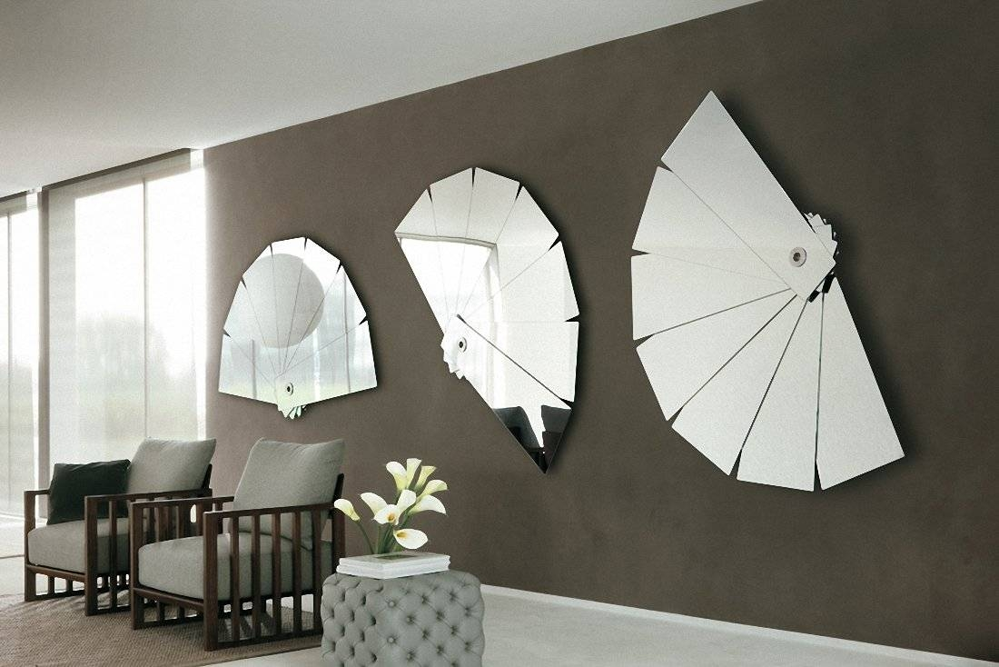 Bedroom : Luxury Home > Furniture > New Modern Art Deco Red Throughout Latest Mirrors Modern Wall Art (View 4 of 20)