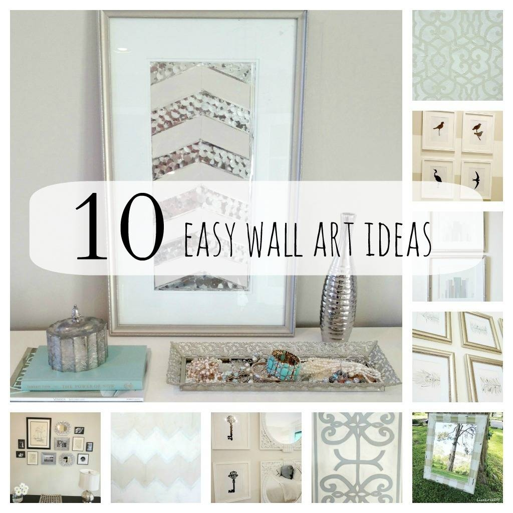 Bedroom : Mesmerizing Diy Wall Art Ideas Wall Decor Cozy Cheap With Latest Cheap Wall Art And Decor (View 4 of 20)