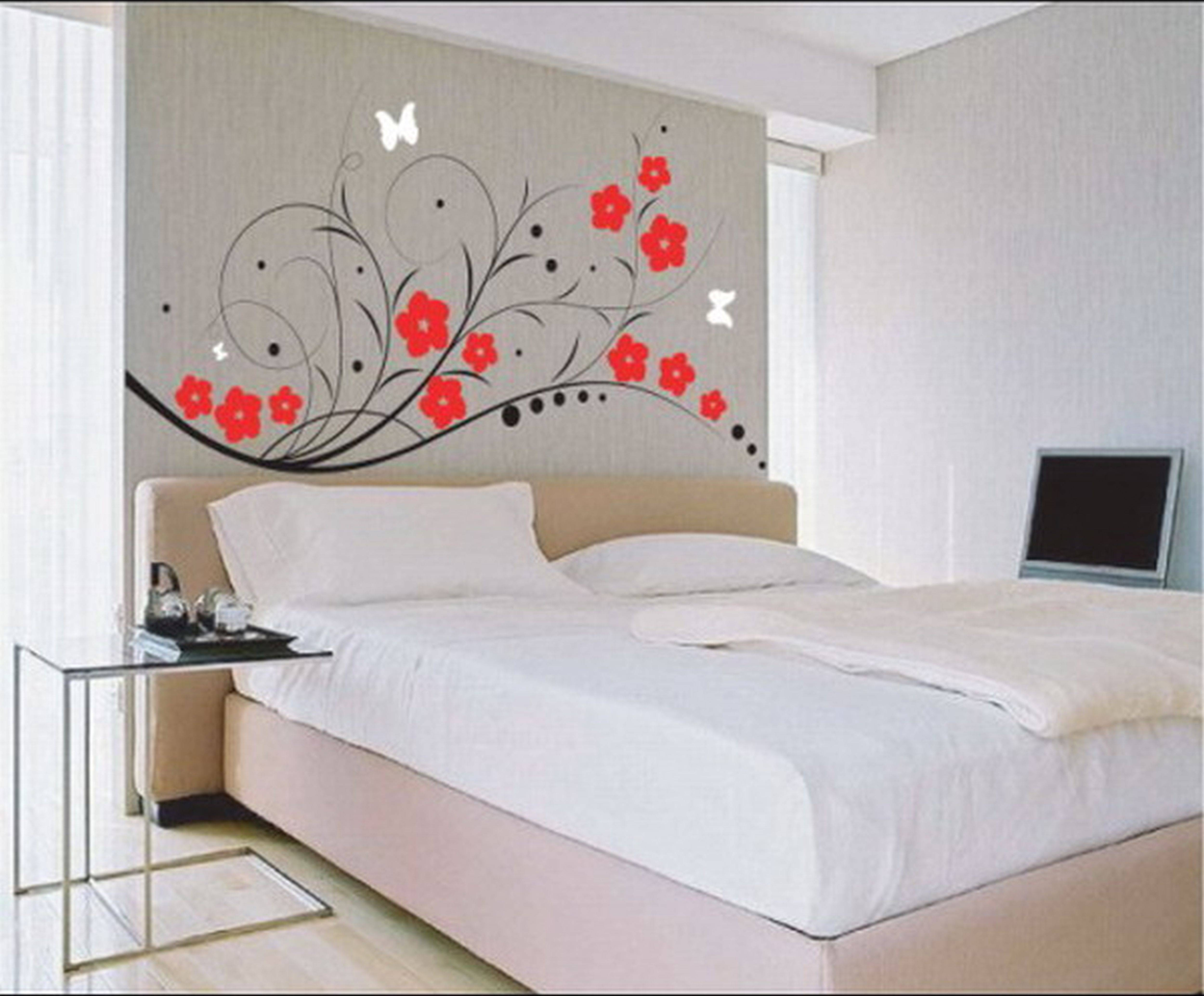Bedroom : Mesmerizing Painting Walls Ideas Painting Designs Walls Throughout Newest Wall Art For Bedrooms (View 4 of 20)