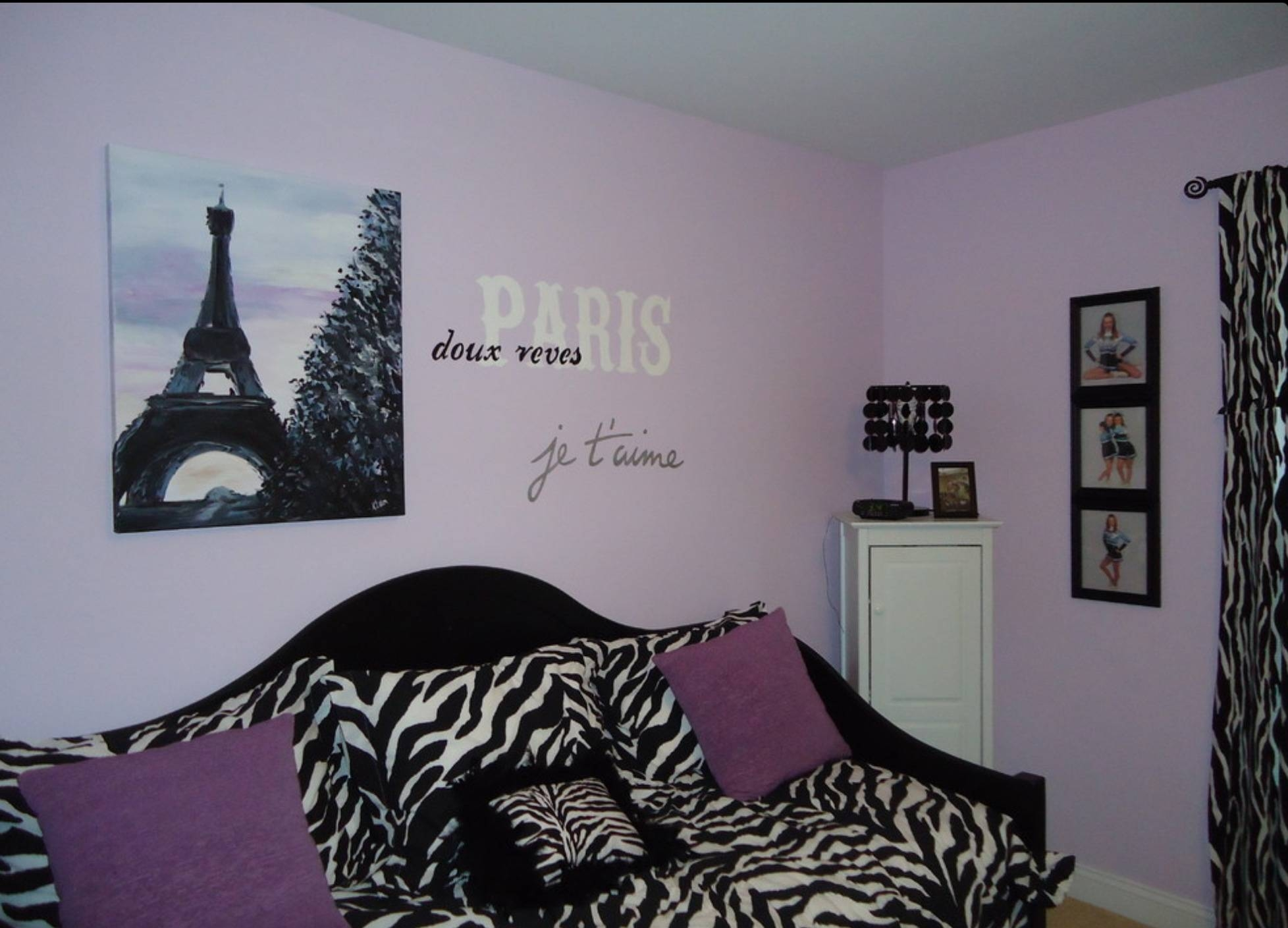Bedroom : Paris Wall Art Decor With Paris Bedroom Comforter Also Intended For 2018 Paris Themed Wall Art (View 5 of 20)