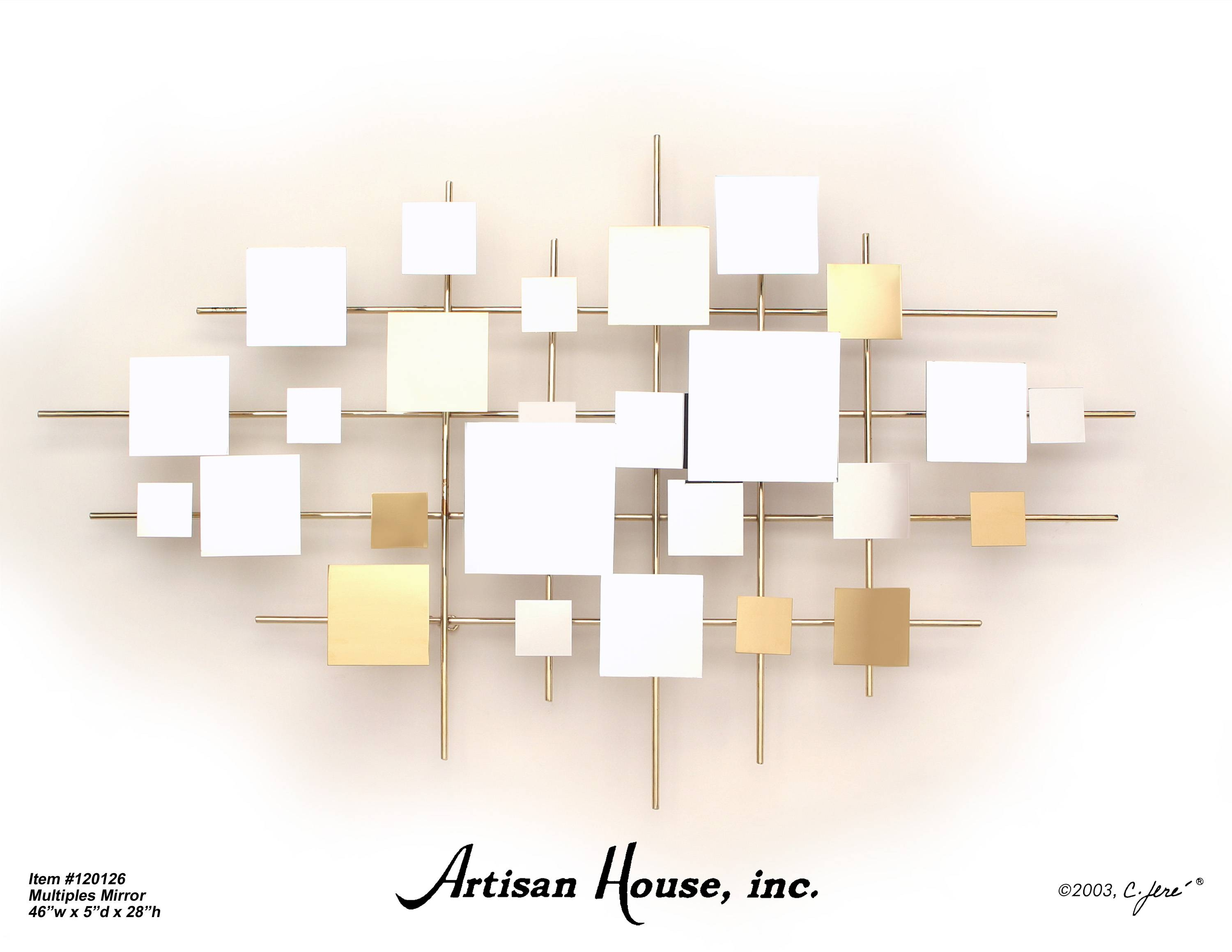 Bedroom : Trendy Home » Wall Art Decor » Awesome Mirror Art Wall Pertaining To Most Popular Abstract Mirror Wall Art (View 3 of 15)