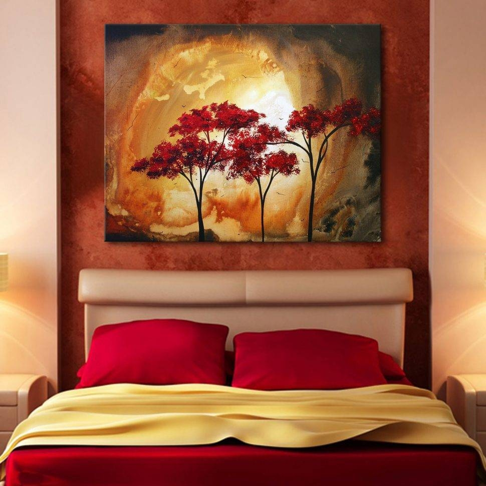 Bedroom : Turquoise Wall Decor Wall Paint Colors Bedroom Colors Within 2017 Red And Turquoise Wall Art (View 7 of 20)