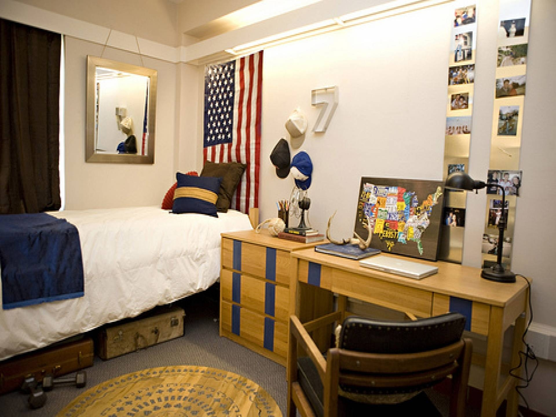 Bedrooms : College Student Room Ideas College Dorm Packages With Most Recent College Dorm Wall Art (View 3 of 20)
