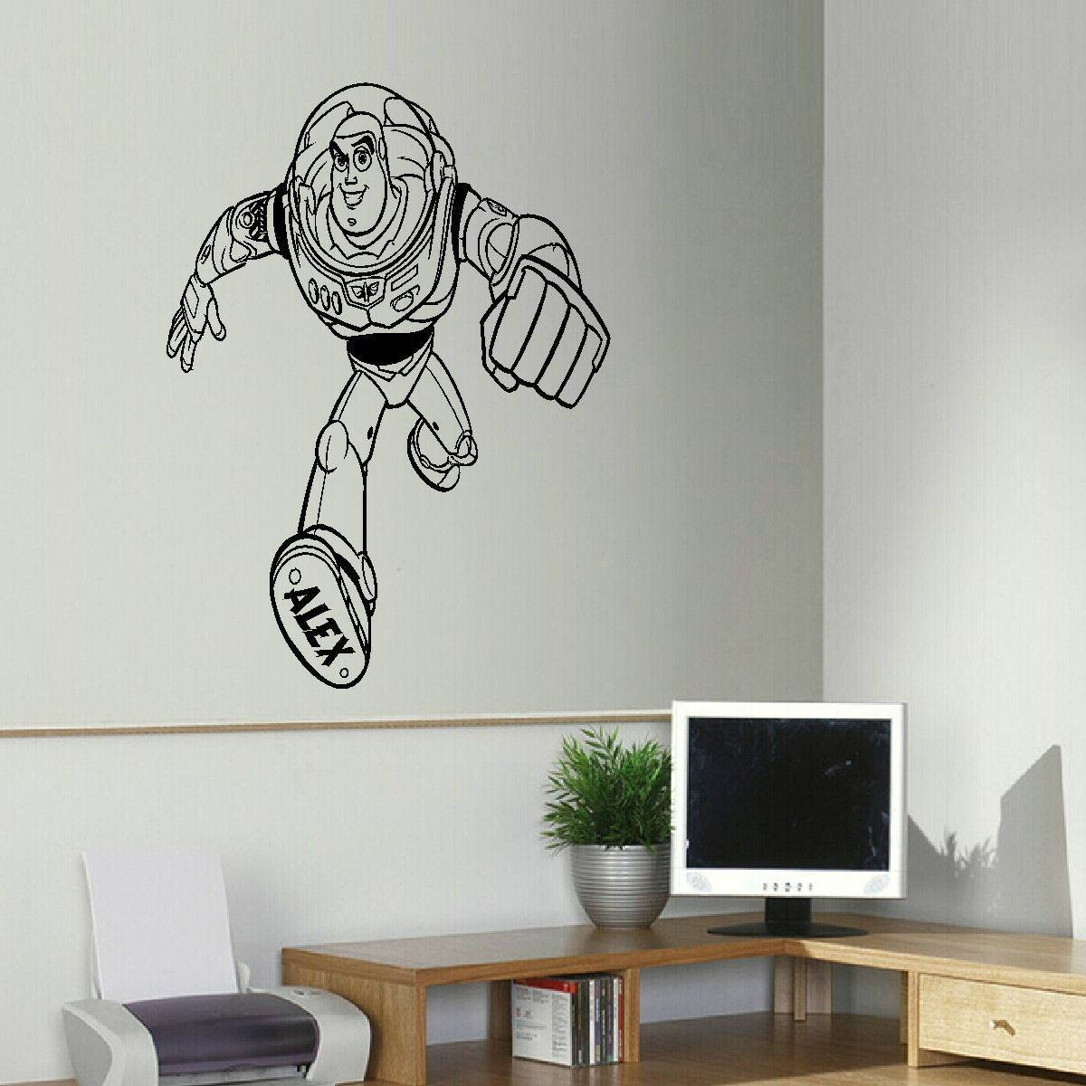 Bespoke Graphics – Childrens Wall Art Decals Stickers Inside Current Toy Story Wall Art (View 6 of 30)