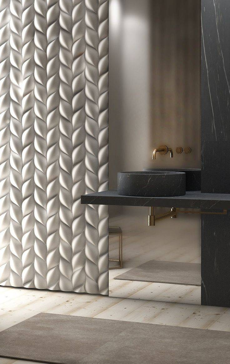 Best 25+ 3D Wall Panels Ideas On Pinterest | 3D Textured Wall For Most Current 3D Wall Art For Bathroom (View 10 of 20)