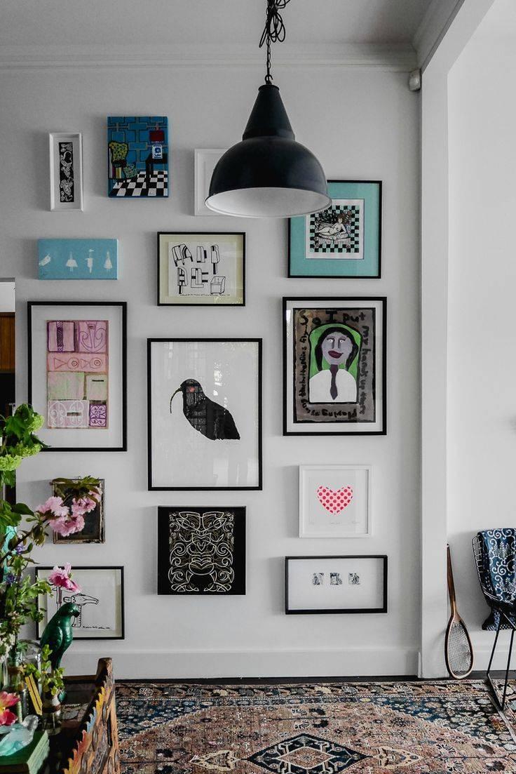 Best 25+ Art Walls Ideas On Pinterest | Gallery Wall, Living Room Pertaining To 2017 Pinterest Wall Art Decor (View 15 of 25)