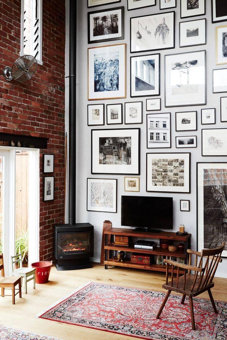 Best 25+ Art Walls Ideas On Pinterest | Gallery Wall, Living Room Throughout Most Popular Tall Wall Art Decor (View 4 of 20)