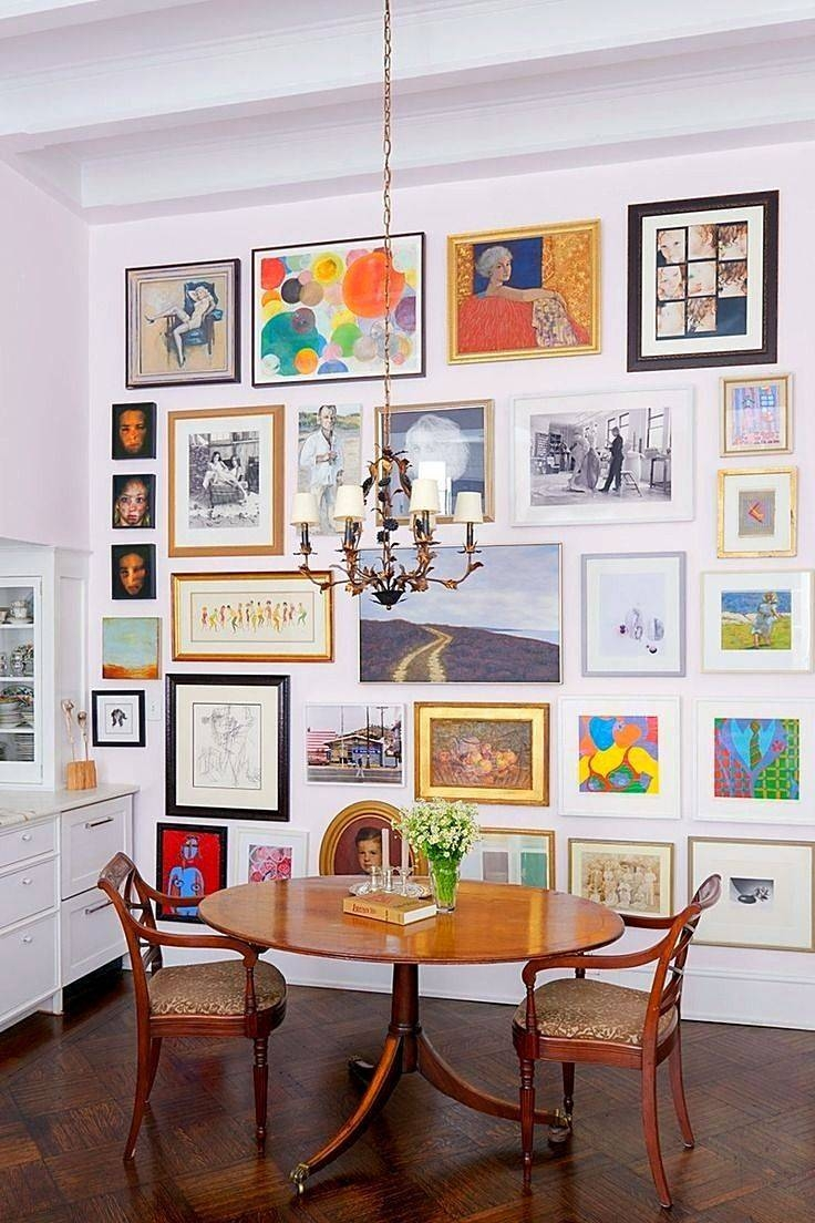 Best 25+ Art Walls Ideas On Pinterest | Gallery Wall, Living Room With Regard To Most Recently Released Kitchen And Dining Wall Art (View 10 of 25)