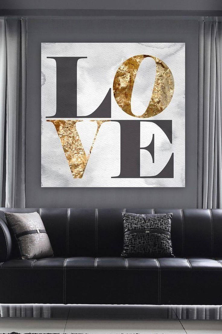 Best 25+ Black Wall Art Ideas On Pinterest | Black Decorative Art In Current Black Love Wall Art (View 5 of 15)