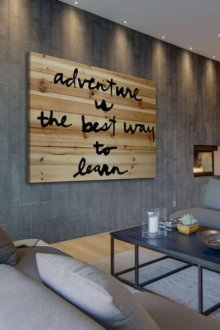 Best 25+ Brown Wall Decor Ideas On Pinterest | Brown Room Decor Throughout Most Recently Released Pinterest Wall Art Decor (View 10 of 25)