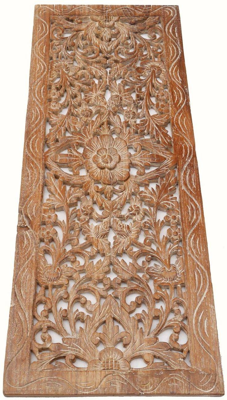 Best 25+ Carved Wood Wall Art Ideas On Pinterest | Wood Carved Throughout  Most Current