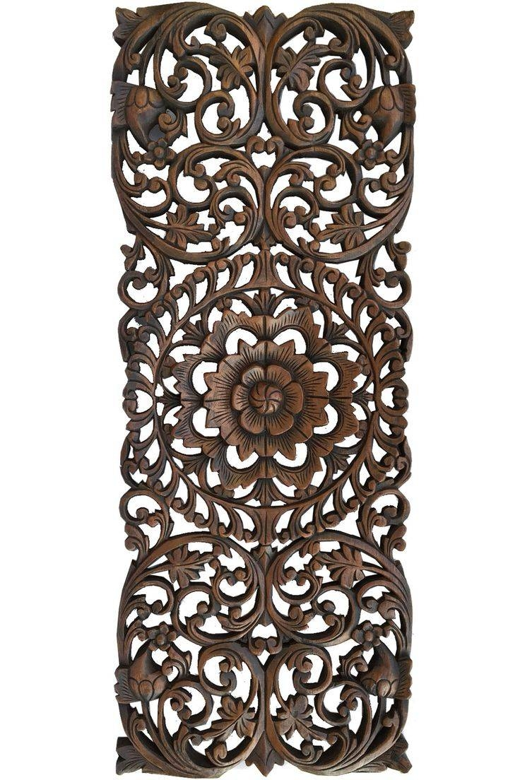 Best 25+ Carved Wood Wall Art Ideas On Pinterest | Wood Carved Within Most Recent Wood Carved Wall Art Panels (View 5 of 25)