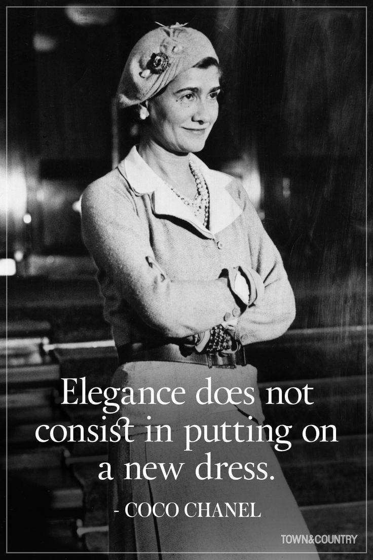 Best 25+ Chanel Quotes Ideas On Pinterest | Coco Chanel Quotes Regarding 2018 Coco Chanel Quotes Framed Wall Art (View 4 of 30)