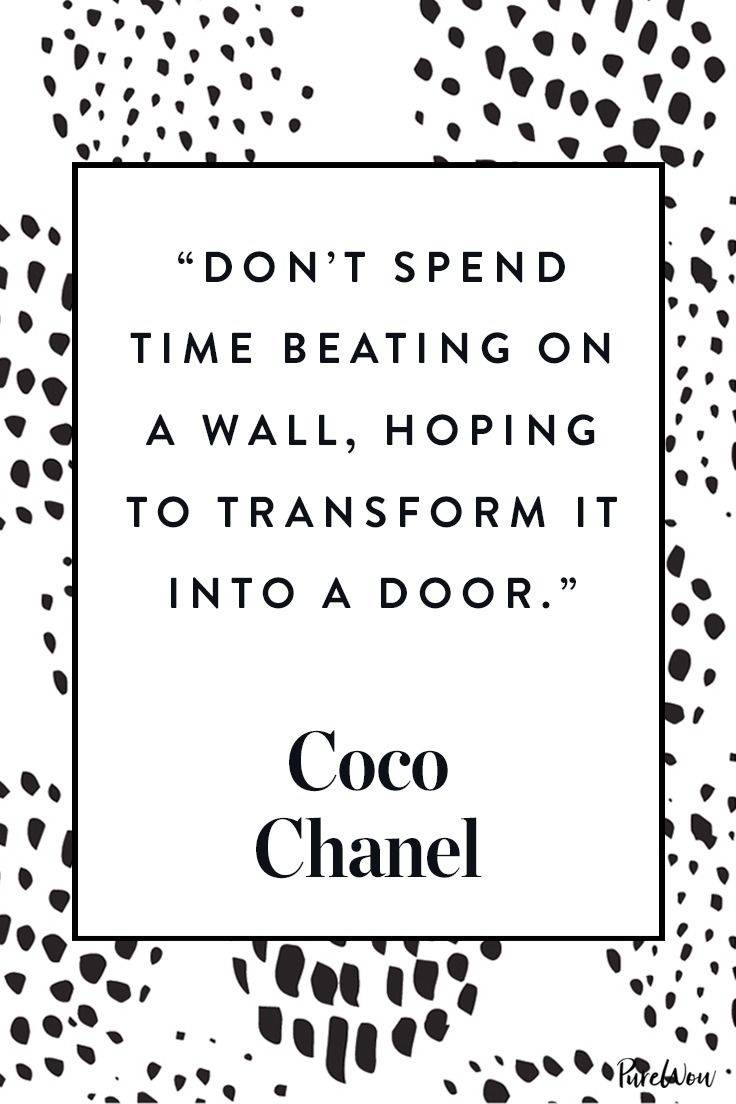 Best 25+ Coco Chanel Quotes Ideas On Pinterest | Chanel Quotes Pertaining To 2018 Coco Chanel Quotes Framed Wall Art (View 6 of 30)