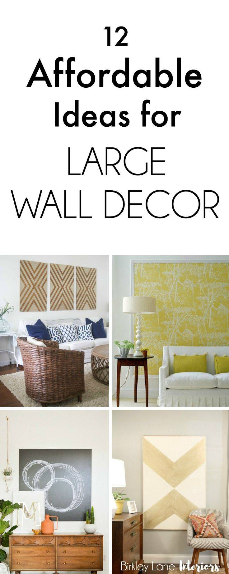 Best 25+ Decorate Large Walls Ideas On Pinterest | Decorating Throughout Latest Wall Art For Large Walls (View 2 of 20)
